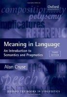 OUP References MEANING IN LANGUAGE: An Introduction to Semantics and Pragma... cena od 752 Kč