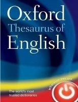 OUP References OXFORD THESAURUS OF ENGLISH Third Edition Revised - OXFORD D... cena od 659 Kč