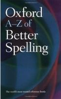 XXL obrazek OUP References OXFORD A-Z OF BETTER SPELLING 2nd Edition - BUXTON, Ch.