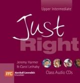 Heinle ELT JUST RIGHT UPPER INTERMEDIATE CLASS AUDIO CD - HARMER, J., L... cena od 657 Kč