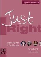 Heinle ELT JUST RIGHT UPPER INTERMEDIATE WORKBOOK WITH KEY + AUDIO CD -... cena od 261 Kč
