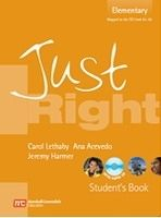 Heinle ELT JUST RIGHT ELEMENTARY STUDENT´S BOOK + CD - HARMER, J. cena od 441 Kč
