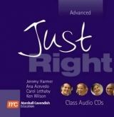 Heinle ELT JUST RIGHT ADVANCED CLASS AUDIO CDs /2/ - ACEVEDO, A., HARME... cena od 649 Kč