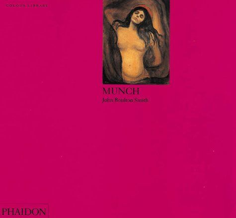 Phaidon Press Ltd COLOUR LIBRARY - MUNCH - SMITH, J. B. cena od 198 Kč