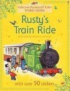 Usborne Publishing RUSTY´S TRAIN RIDE (Farmyard Tales Sticker Storybooks) - AME... cena od 120 Kč