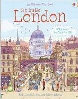 Usborne Publishing SEE INSIDE: LONDON (Usborne Flap Books) - JONES, R. L. cena od 271 Kč