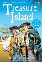 Usborne Publishing USBORNE YOUNG READING LEVEL 2: TREASURE ISLAND + AUDIO CD PA... cena od 187 Kč