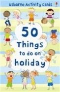 Usborne Publishing 50 THINGS TO DO ON HOLIDAY (Usborne Activity Cards) - CLARKE... cena od 190 Kč