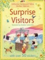 Usborne Publishing SURPRISE VISITORS (Farmyard Tales Sticker Storybooks) - AMER... cena od 120 Kč