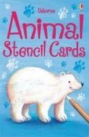 Usborne Publishing ANIMAL STENCIL CARDS - PEARSON, M. cena od 179 Kč