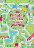 XXL obrazek Usborne Publishing 100 THINGS FOR LITTLE CHILDREN TO DO ON A JOURNEY (Usborne A...