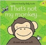 Usborne Publishing THAT´S NOT MY MONKEY - WATT, F., WELLS, R. cena od 190 Kč