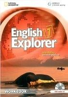 Heinle ELT ENGLISH EXPLORER 1 WORKBOOK + WORKBOOK AUDIO CD - BAILEY, J.... cena od 364 Kč