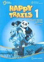 Heinle ELT HAPPY TRAILS 1 ACTIVITY BOOK WITH ANSWER KEY - HEATH, J. cena od 450 Kč