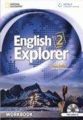 Heinle ELT ENGLISH EXPLORER 2 WORKBOOK + WORKBOOK AUDIO CD - BAILEY, J.... cena od 364 Kč