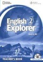 Heinle ELT ENGLISH EXPLORER 2 TEACHER´S BOOK + CLASS AUDIO CD PACK - BA... cena od 734 Kč