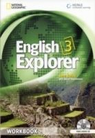 Heinle ELT ENGLISH EXPLORER 3 WORKBOOK + WORKBOOK AUDIO CD - BAILEY, J.... cena od 280 Kč