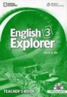 Heinle ELT ENGLISH EXPLORER 3 TEACHER´S BOOK + CLASS AUDIO CD PACK - BA... cena od 960 Kč