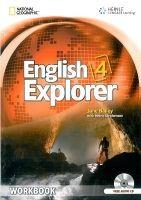 Heinle ELT ENGLISH EXPLORER 4 WORKBOOK + WORKBOOK AUDIO CD cena od 280 Kč