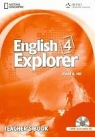 Heinle ELT ENGLISH EXPLORER 4 TEACHER´S BOOK + CLASS AUDIO CD PACK - BA... cena od 734 Kč