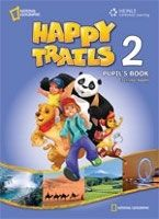 Heinle ELT HAPPY TRAILS 2 PUPIL´S BOOK + AUDIO CD PACK - HEATH, J. cena od 608 Kč
