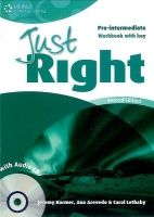 Heinle ELT JUST RIGHT Second Edition PRE-INTERMEDIATE WORKBOOK WITH ANS... cena od 270 Kč