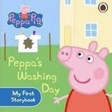 Ladybird Books Peppa Pig: Peppa´s Washing cena od 110 Kč