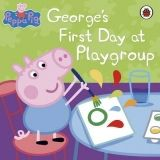 Ladybird Books PEPPA PIG: GEORGES FIRST DAY AT PLAYGROUP cena od 110 Kč