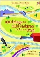 XXL obrazek Usborne Publishing 100 THINGS FOR LITTLE CHILDREN TO DO ON A TRAIN (Usborne Act...