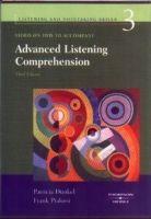 Heinle ELT ADVANCED LISTENING COMPREHENSION Third Edition DVD - DUNKEL,... cena od 1108 Kč