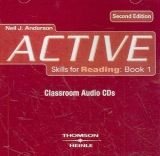 XXL obrazek Heinle ELT ACTIVE SKILLS FOR READING Second Edition 1 AUDIO CDs - ANDER...