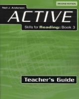 Heinle ELT ACTIVE SKILLS FOR READING Second Edition 3 TEACHER´S GUIDE -... cena od 557 Kč