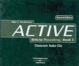 XXL obrazek Heinle ELT ACTIVE SKILLS FOR READING Second Edition 3 AUDIO CDs - ANDER...