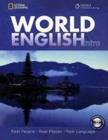 Heinle ELT WORLD ENGLISH INTRO STUDENT´S BOOK + CD-ROM PACK - CHASE, R.... cena od 496 Kč