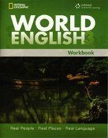 Heinle ELT WORLD ENGLISH 3 WORKBOOK - CHASE, R. T., JOHANNSEN, K. L., M... cena od 270 Kč