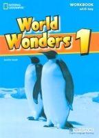 Heinle ELT WORLD WONDERS 1 WORKBOOK WITH KEY - HEATH, J. cena od 364 Kč