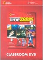 Heinle ELT TIME ZONES 1 CLASSROOM DVD - COLLINS, T., FRAZIER, C., FRAZI... cena od 1108 Kč
