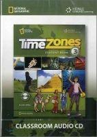 Heinle ELT TIME ZONES 3 CLASSROOM AUDIO CD - COLLINS, T., FRAZIER, C., ... cena od 863 Kč
