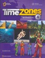Heinle ELT TIME ZONES 4 WORKBOOK - LIESKE, C. cena od 377 Kč