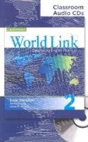 Heinle ELT WORLD LINK Second Edition 2 CLASSROOM AUDIO CD - CURTIS, A.,... cena od 678 Kč