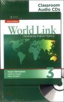 Heinle ELT WORLD LINK Second Edition 3 CLASSROOM AUDIO CD - CURTIS, A.,... cena od 703 Kč