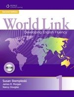 Heinle ELT WORLD LINK Second Edition 1 STUDENT´S BOOK WITH CD-ROM PACK ... cena od 485 Kč