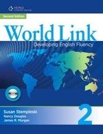 Heinle ELT WORLD LINK Second Edition 2 STUDENT´S BOOK WITH CD-ROM PACK ... cena od 467 Kč