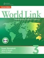 Heinle ELT WORLD LINK Second Edition 3 STUDENT´S BOOK WITH CD-ROM PACK ... cena od 483 Kč