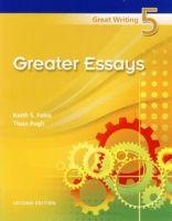 Heinle ELT GREAT WRITING 5 Second Edition GREATER ESSAYS (International... cena od 521 Kč