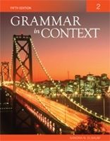 Heinle ELT GRAMMAR IN CONTEXT 5th Edition 2 International Student Editi... cena od 742 Kč