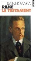 Volumen LE TESTAMENT - RILKE, R. M. cena od 59 Kč