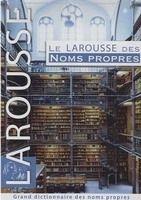 LAROUSSE DES NOMS PROPRES - COLLECTIF cena od 871 Kč
