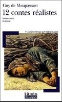 SODIS 12 CONTES REALISTES - DE MAUPASSANT, G. cena od 136 Kč