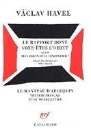 SODIS LE RAPPORT DONT VOUS ETES L´OBJET - HAVEL, V. cena od 445 Kč